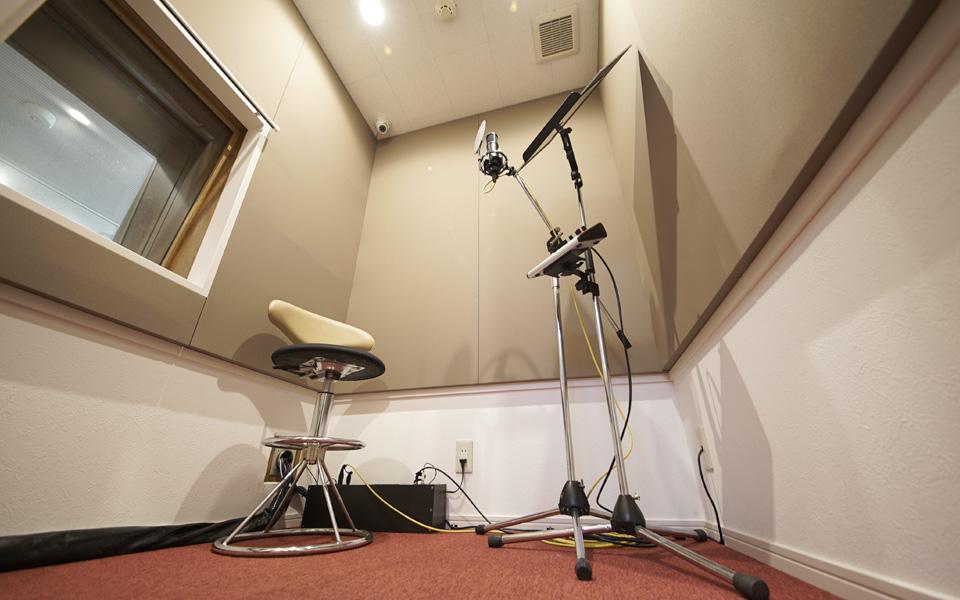 スタジオキッカ吉祥寺レコーディング用サブブース1